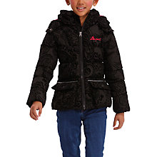Buy Desigual Rick Coat, Black Online at johnlewis.com