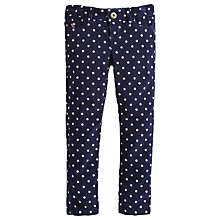 Buy Little Joule Girls' Pippie Spotted Corduroy Trousers Online at johnlewis.com
