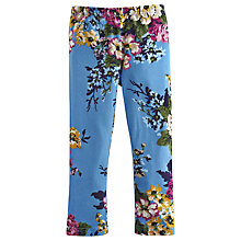 Buy Little Joule Girls' Deedee Floral Leggings, Blue Online at johnlewis.com