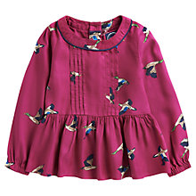 Buy Little Joule Girls' Anne Duck Top, Pink Online at johnlewis.com