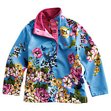 Buy Little Joule Floral Cowdray Sweatshirt, Blue Floral Online at johnlewis.com