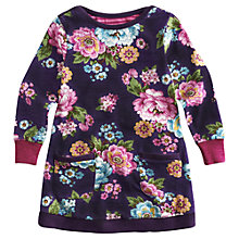 Buy Little Joule Girls' Bangles Floral Dress, Purple Online at johnlewis.com