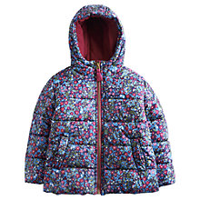 Buy Little Joule Padsfield Coat, Navy Online at johnlewis.com