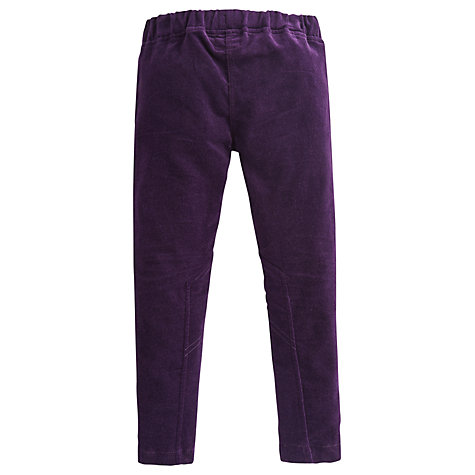 Buy Little Joule Jeggings, Violet Online at johnlewis.com