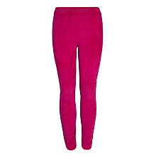 Buy Little Joule Velvet Leggings, Ruby Online at johnlewis.com