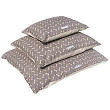 Buy Mutts & Hounds Bone Print Pillow Bed Online at johnlewis.com