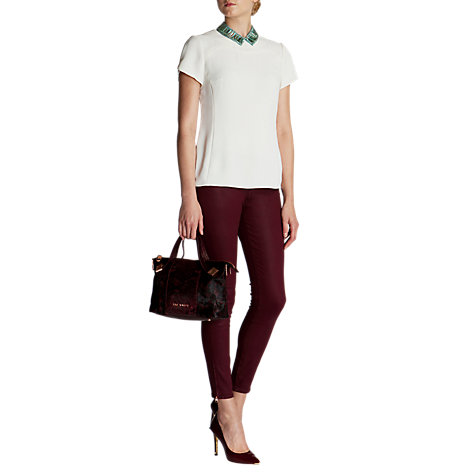 Buy Ted Baker Mellisa Sweetheart Seam Top Online at johnlewis.com