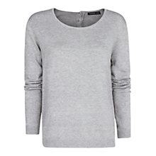 Buy Mango Embossed Polka-Dot Sweater Online at johnlewis.com