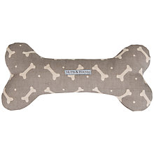 Buy Mutts & Hounds Bone Print Bone Dog Toy Online at johnlewis.com