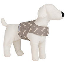Buy Mutts & Hounds Bone Print Soft Dog Harness Online at johnlewis.com