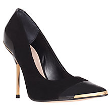 Buy Carvela Adara Court Shoes, Black Online at johnlewis.com