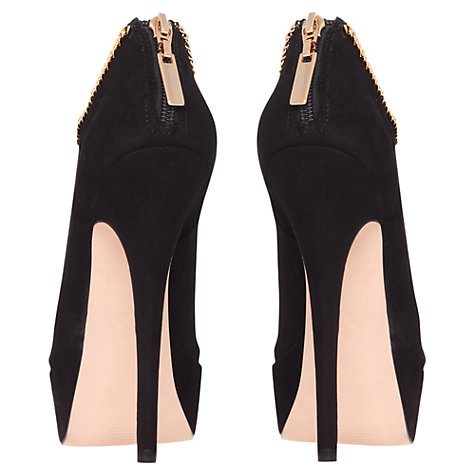 Buy Carvela Gazelle Ankle Boots, Black Online at johnlewis.com