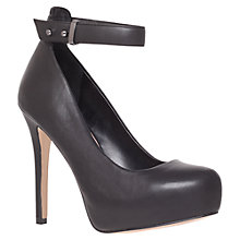 Buy Carvela Acacia Court Shoes, Black Online at johnlewis.com