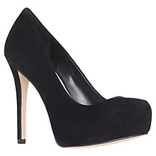 Buy Carvela Aunty Platform Court Shoes, Black Online at johnlewis.com