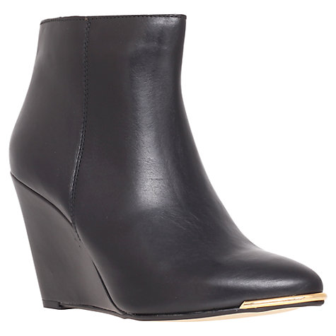 Buy Carvela Spin Wedge Heel Ankle Boots Online at johnlewis.com
