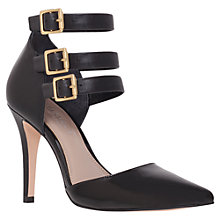 Buy Carvela Adriana Court Shoes, Black Online at johnlewis.com