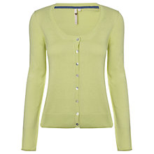 Buy White Stuff Umbrella Cardigan, Zesty Lime Online at johnlewis.com