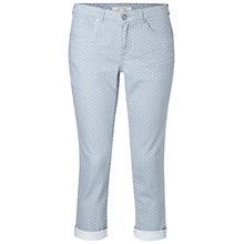 Buy White Stuff Sidney Cropped Jeans, Whisper Grey Online at johnlewis.com