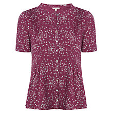 Buy White Stuff Sprinkle Shirt, Old Red Wine Online at johnlewis.com