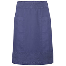 Buy White Stuff Latte Skirt, Moonstone Blue Online at johnlewis.com