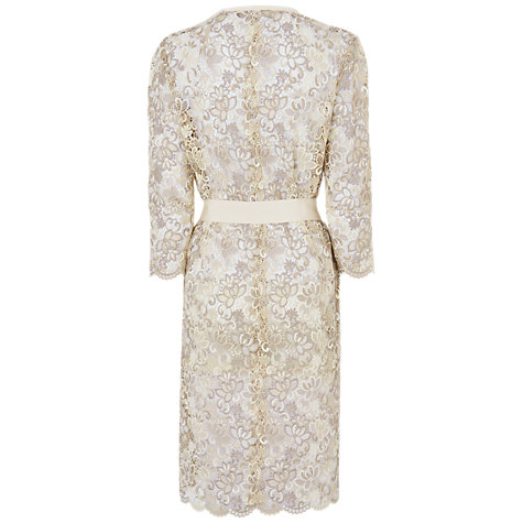 Buy Jaegar Lace Coat, Light Stone Online at johnlewis.com