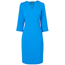 Buy Jaeger Shift Dress, Bright Blue Online at johnlewis.com