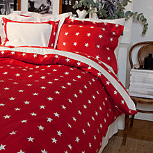 Buy Gant Star Border Bedding, Red Online at johnlewis.com