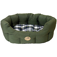 Buy Rosewood 40 Winks Quilted Pet Bed, Green Online at johnlewis.com
