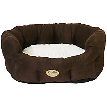Buy Rosewood 40 Winks Faux Suede Dog Bed Online at johnlewis.com