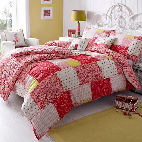 Buy Kirstie Allsopp Luella Strawberry Bedding Online at johnlewis.com