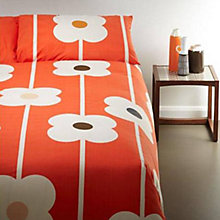 Buy Orla Kiely Abacus Bedding, Tomato Online at johnlewis.com