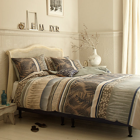 Buy Clarissa Hulse Fern Bedding, Midnight Online at johnlewis.com