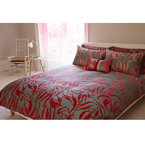 Buy Clarissa Hulse Sea Kelp Bedding, Pink Online at johnlewis.com