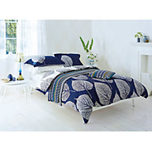 Buy Harlequin Leaves Bedding, Blue Online at johnlewis.com