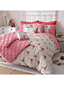 Kirstie Allsopp Gingham Rose Bedding