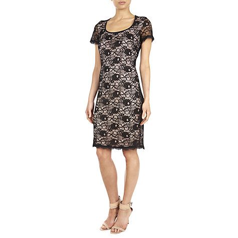 Buy Fenn Wright Manson Anna Lace Dress, Black Online at johnlewis.com