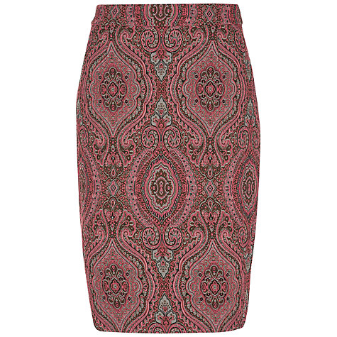 Buy Fenn Wright Manson Maggie Pencil Skirt, Pink Online at johnlewis.com