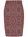 Fenn Wright Manson Maggie Pencil Skirt, Pink