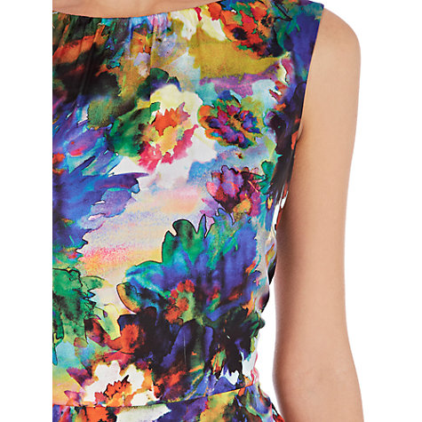 Buy Coast Adria Floral Print Dress, Multi Online at johnlewis.com