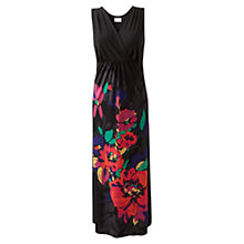 Buy East Delilah Print Maxi Dress, Black Online at johnlewis.com