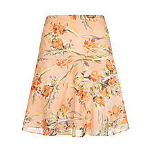 Buy Jigsaw Underwarer Floral Print Skirt Online at johnlewis.com