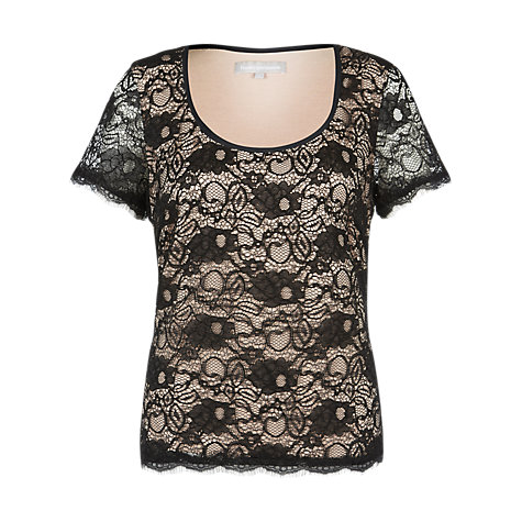Buy Fenn Wright Manson Alecia Lace Top, Black Online at johnlewis.com