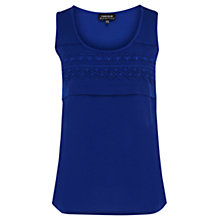Buy Warehouse Lace Trim Vest Top Online at johnlewis.com