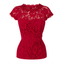 Buy Coast Premier Top, Red Online at johnlewis.com