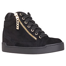 Buy Carvela Lap Zipped High-Top Trainers Online at johnlewis.com