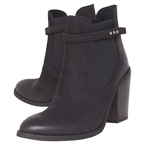 Buy Carvela Stand Ankle Boots, Black Online at johnlewis.com
