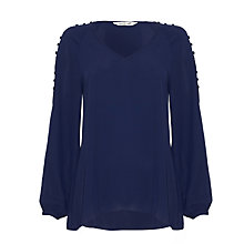 Buy Damsel in a dress Vetyver Blouse, Navy Online at johnlewis.com