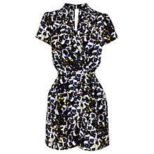 Buy Warehouse Pansy Print Playsuit, Multi Online at johnlewis.com