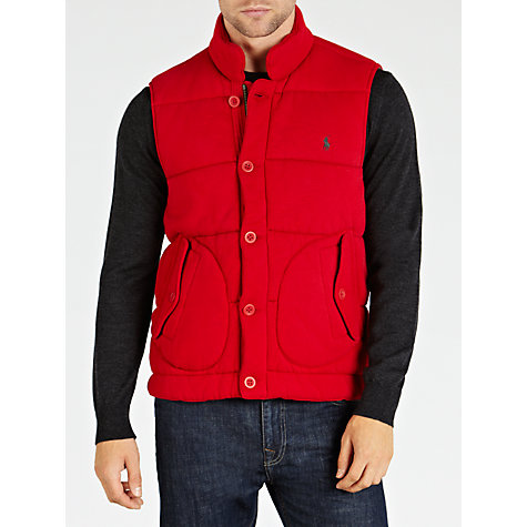 Buy Polo Ralph Lauren Puffer Gilet Online at johnlewis.com