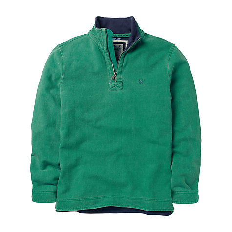 Buy Crew Clothing Pique Cotton Jersey Jumper Online at johnlewis.com